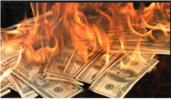 financial-18-burning-paper-money