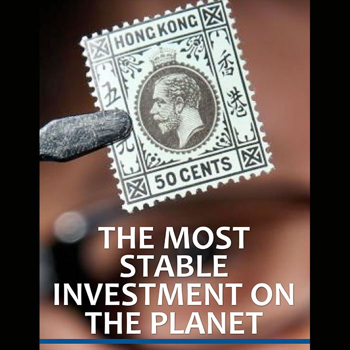 issue 19 financial newsletter stamps investment cover image