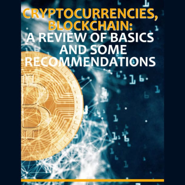 Cryptocurrencies Blockchain Basics
